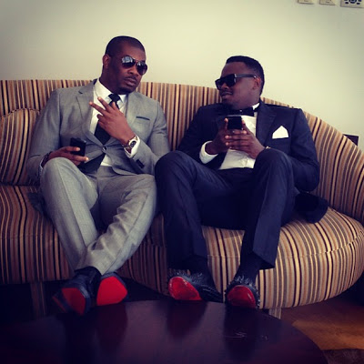 Don Jazzy and Dr. SID