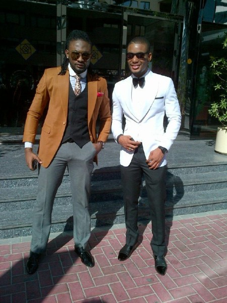 Uti Nwachukwu and Alexx Ekubo